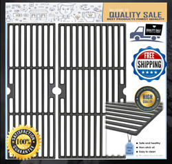 Cast Iron Bbq Grill Grates For Charbroil Model 2 Burner 18 Inch New Free Shippi