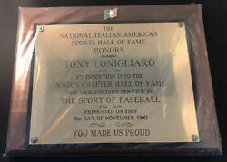 1990 Tony Conigliaro Award The National Italian American Sports Hall of Fame 11