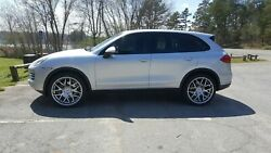 22 Avant Garde Ruger Mesh Silver Wheels And Tires Plus Tpms And Wheel Locks And Bolts