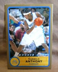 Carmelo Anthony 2003-04 Bazooka Gold Parallel Rookie240nuggets G-v1 See Photo