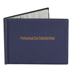 Juvale Coin Collection Holder Album Book For Collectors Holds 240 Coins