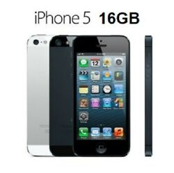 Apple Iphone 5 16gb A1428 Refurbished To New In Retail Box All Accessories Local