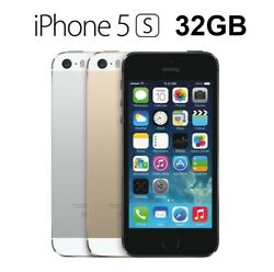Apple Iphone 5s 32gb A1533 Refurbished To New - Retail Box All Accessories Local