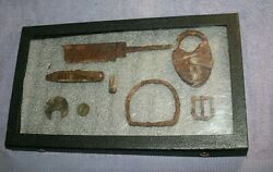 Civil War Dug Items From Ft. Donelson-bowie Knife Lock Knife Plus