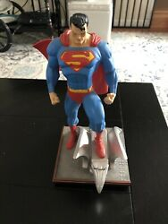 Dc Direct Full Size Superman Jim Lee Statue Hush Limited Edition 1755 Of 6500.