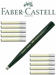 Faber-castell Rotating Pen With Eraser 1andnbsppen + 10andnbsprefills 1