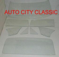 1968 1969 Chevelle Glass 2 Dr Coupe Sed Windshield Vent Door Quarter Back Clear