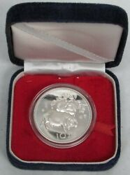 1983 Silver China 10 Yuan 15 Gram Proof Lunar Year Of The Pig In Box