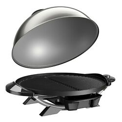 Electric Grill Tabletop Stand George Foreman Indoor Outdoor Griddle Nonstick Bbq