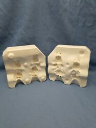 Duncan 319 Easter County Bunnies Slip Casting Mold Ceramic Craft Pouring Pottery