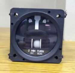 Turn And Slip Indicator - Mid-continent 5550-8340n5l Sn 06950423