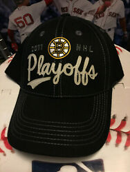 Boston Bruins Nhl Oth 2011 Stanley Cup Playoffs Hat Cap Old Time Hockey Champion