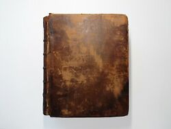 The Holy Bible Old And New Testament T. Wright And W. Gill Leather Rare 1770