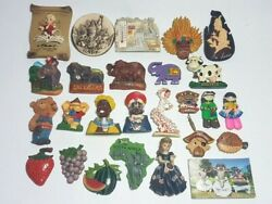 Lot Of 26 Refrigerator Magnet Fridge Magnets Souvenir Collectible Gift