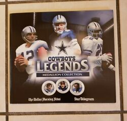 Dallas Cowboys Legends Medallion Collection- 22 In The Set