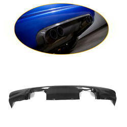Carbon Fiber Rear Bumper Lip Bodykits Refit Fit For Bmw E46 M3 Coupe 2000-2006