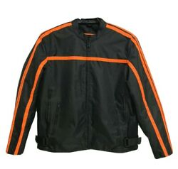 Revolution Gear men#x27;s motorcycle jacket motorbike with Removable Liner size XL $38.99