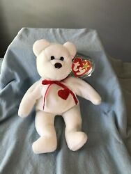 Valentino Ty Beanie Baby - Rare With Brown Nose