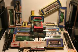 Lot Tyco Ahm Model Power Engines Tankers Trains