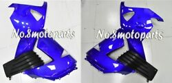 Fit For 2006-2011 Zx14 New Blue Black Abs Injection Left Right Side Fairings A03