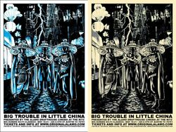 Big Trouble In Little China By Timothy Doyle - Set Of 2 Prints - Sold Out Mondo