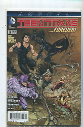 Teen Titans 3 Nm The New 52 Annual Forever  Dc 27