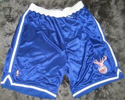 Nba Authentic Chicago Bulls Stags Shorts Pro Cut Team Issued