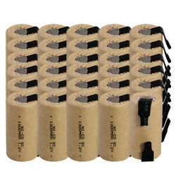 30 pcs SC battery 1300mah SUBC batteries rechargeable nicd 1.2V real capacity