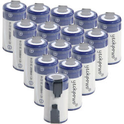 15 pcs SC battery 2000mah SUBC batteries rechargeable nicd 1.2V real capacity