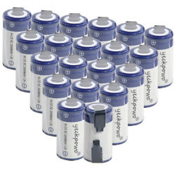 20 pcs SC battery 2000mah SUBC batteries rechargeable nicd 1.2V real capacity