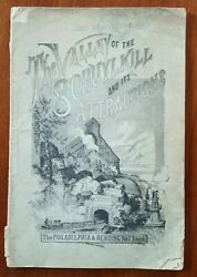 Valley Of The Schuykill Philadelphia And Reading Rr 1880 Brochure Great Engravings
