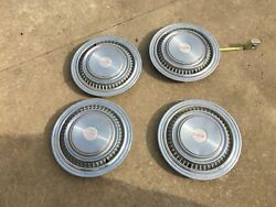 Rare Gmc High Sierra Pick Up Oe Oem Pickup Truck 16andrdquo Hubcaps Set Of 4 Nice