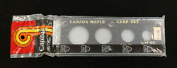 2 In. X 6 In. Capital Plastic Black Coin Holder Canada Maple Leaf