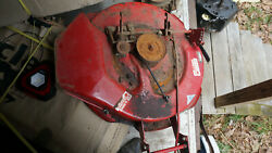 Wheel Horse Lawn Mower Model 35-30sl01 30and039and039 Riding Mower Deck Full Deck