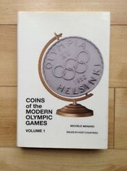 Coins Of The Modern Olympic Games Hardcover - By Michele Menard Coin Collecting
