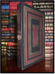 Works Of Geoffrey Chaucer New Easton Press Limited Large Leather Bound 1/1100