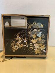 Japanese Bento Box Mother Of Pearl Inlaid