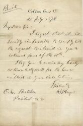 Rutherford B. Hayes - Autograph Letter Signed 07/21/1876