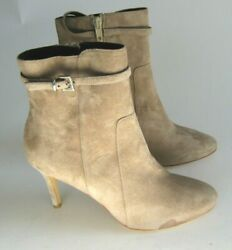 Charles David Italy Womens Prism Taupe Ankle Boots Eur 36