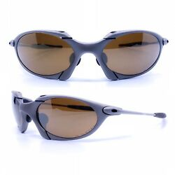 Glasses Oakley Romeo 1 Mission Impossible Vintage Sunglasses New Old Stock