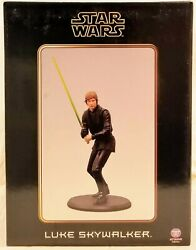 Attakus Collection Star Wars Luke Skywalker Statue Le 1405/1500 And 1406/1500