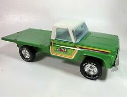 Rare Vintage 1960s Nylint Ny-lint Farms Ford Flatbed Pickup Truck Model Diecast