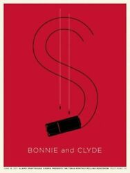 Bonnie And Clyde By Jason Munn - Sold Out Signed And Numbered Mondo Print
