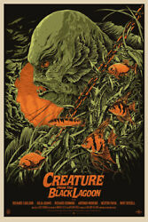 Creature From The Black Lagoon By Ken Taylor - Regular - Sold Out Mondo Print
