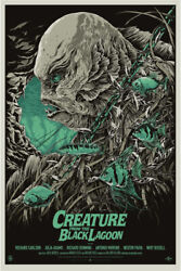 Creature From The Black Lagoon By Ken Taylor - Variant - Sold Out Mondo Print