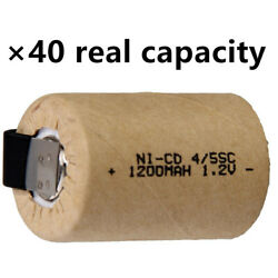 45 SUB C battery 1200mah 45  SC batteries rechargeable nicd real capacity lot