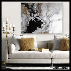 Abstract Resin Painting  Contemporary Modern Wall Art Large Framed ELOISExxx