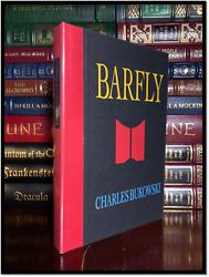 Barfly ✍signed✍ By Charles Bukowski Mint 1st Print Hardback Deluxe Limited 1/200