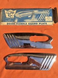 1953 Dodge Plymouth Nors Accessory Style-king Door Handle Guard Plate Pair