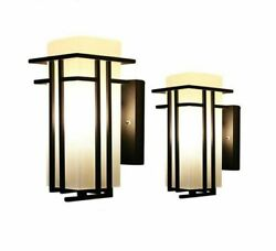 Wall Lamp Outdoor Lights Metal Glass Porch Torch Home Lightings Decoration Lamps